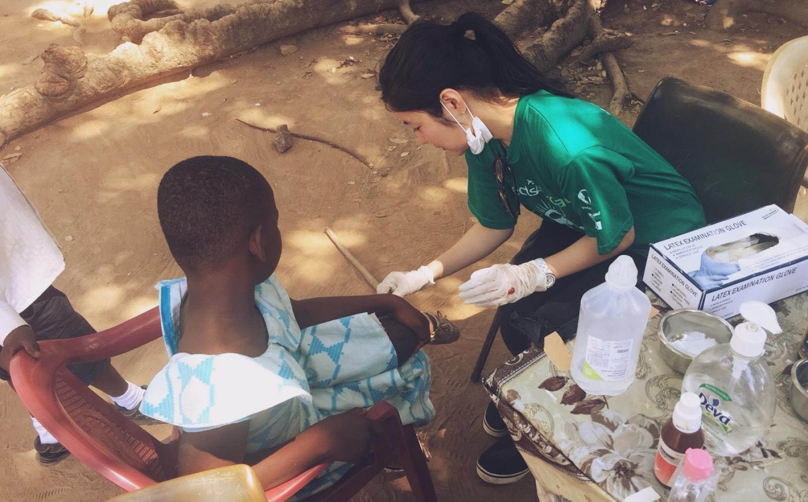 ガーナの子供たちにヘルスケアを届ける医療インターン前原里美さん